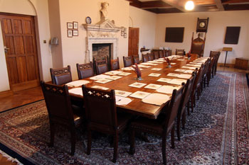Pugin's Boardroom Table and Chairs c1836