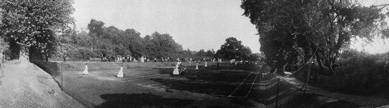 Tennis tournament 1908