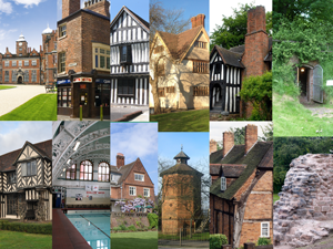 image clips from members with historic houses or public buildings