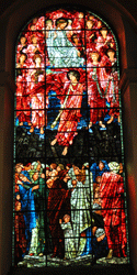 'Ascension' window in the cathedral, by Burne-Jones