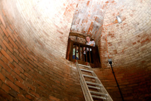 inside the Moseley icehouse