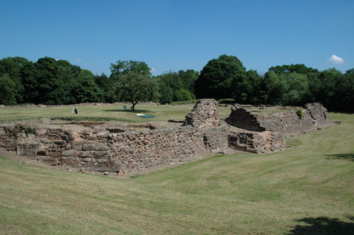 picture of weoley castle ruins