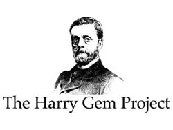 portrait of Harry Gem