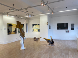 exhibition of ceramics and paintings