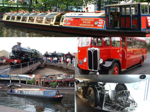 image clips from members interested in transport