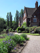 Winterbourne House and garden view