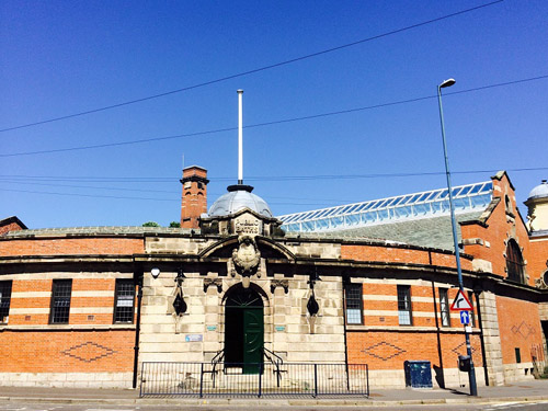 external view of the front of Stirchley Baths