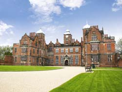 view of the front elevation of Aston Hall