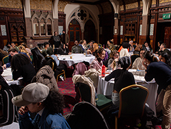 a Trust event in Highbury Hall